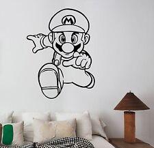Super Mario Sticker Vinyl Wall Decal Video Game Art Playroom Nursery Decor sum8
