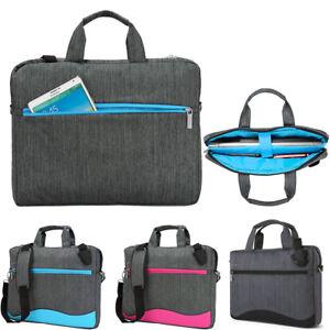 2e45990b241 Image is loading VanGoddy-Laptop-Sleeve-Briefcase-Messenger-Shoulder-Bag -for-