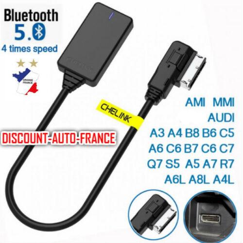 KIT BLUETOOTH AUDIO MP3 AUTORADIO AUDI MMI 3G,3G High,3G A4 A5 Q3 A7 A6