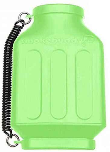"""Smoke Buddy Junior PERSONAL AIR FILTER /""""Lime Green/"""""""