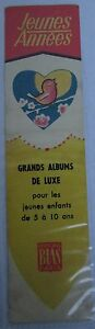 Antique-Brand-Pages-Bookmark-Advertising-Editions-Bias-Albums-de-Luxe-Youth-2