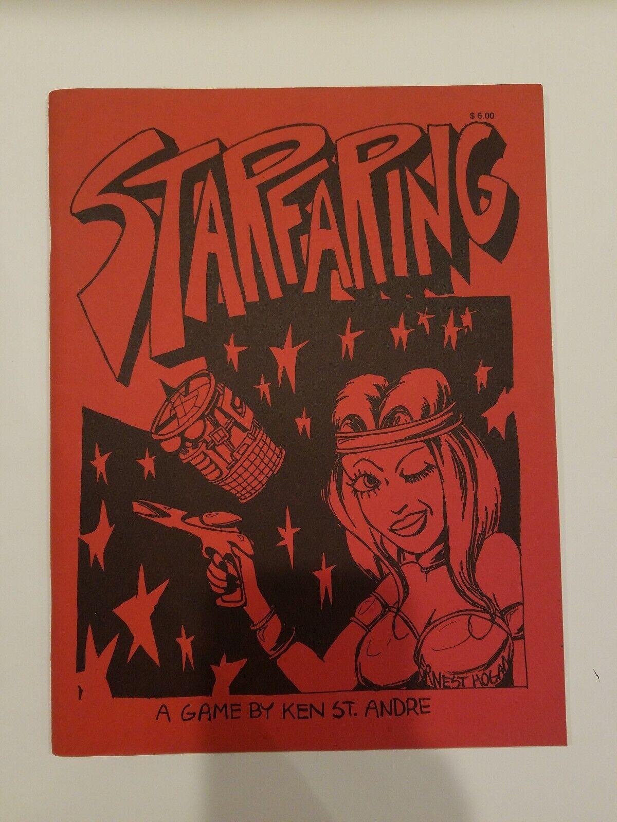 Libro de juego de fantasía Estrellafaring por Ken St. Andre 1976 - 1st edición 1st impresión rara