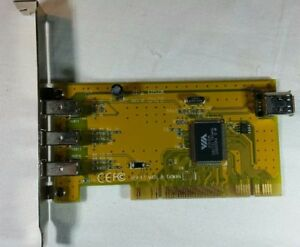 FIREWIRE CARD VIA VT6306 WINDOWS 7 DRIVER