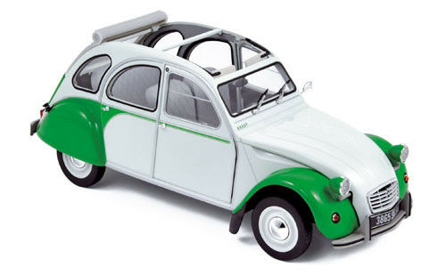 Norev Citroën 2CV Dolly 1985 1 18 white   green