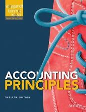 Accounting Principles by Wiley (Loose Leaf in Binder, No Wiley Plus Access Code)