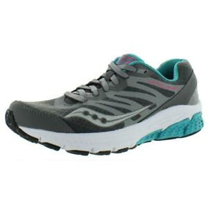 Saucony-Womens-Gray-Fitness-Athletic-Shoes-Sneakers-6-Medium-B-M-BHFO-8393