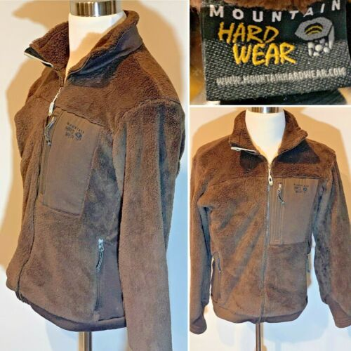MOUNTAIN HARDWEAR Womens Brown Fleece Monkey Fur Z