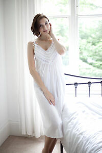 Image is loading Cottonreal-039-Cai-039-Victorian-Style-100-Cotton- 914ba860ecbb