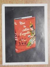 RISO IN CIOTOLE D ARGENTO Alice Ekert Rotholz Santino Segnalibro Pubblicitario
