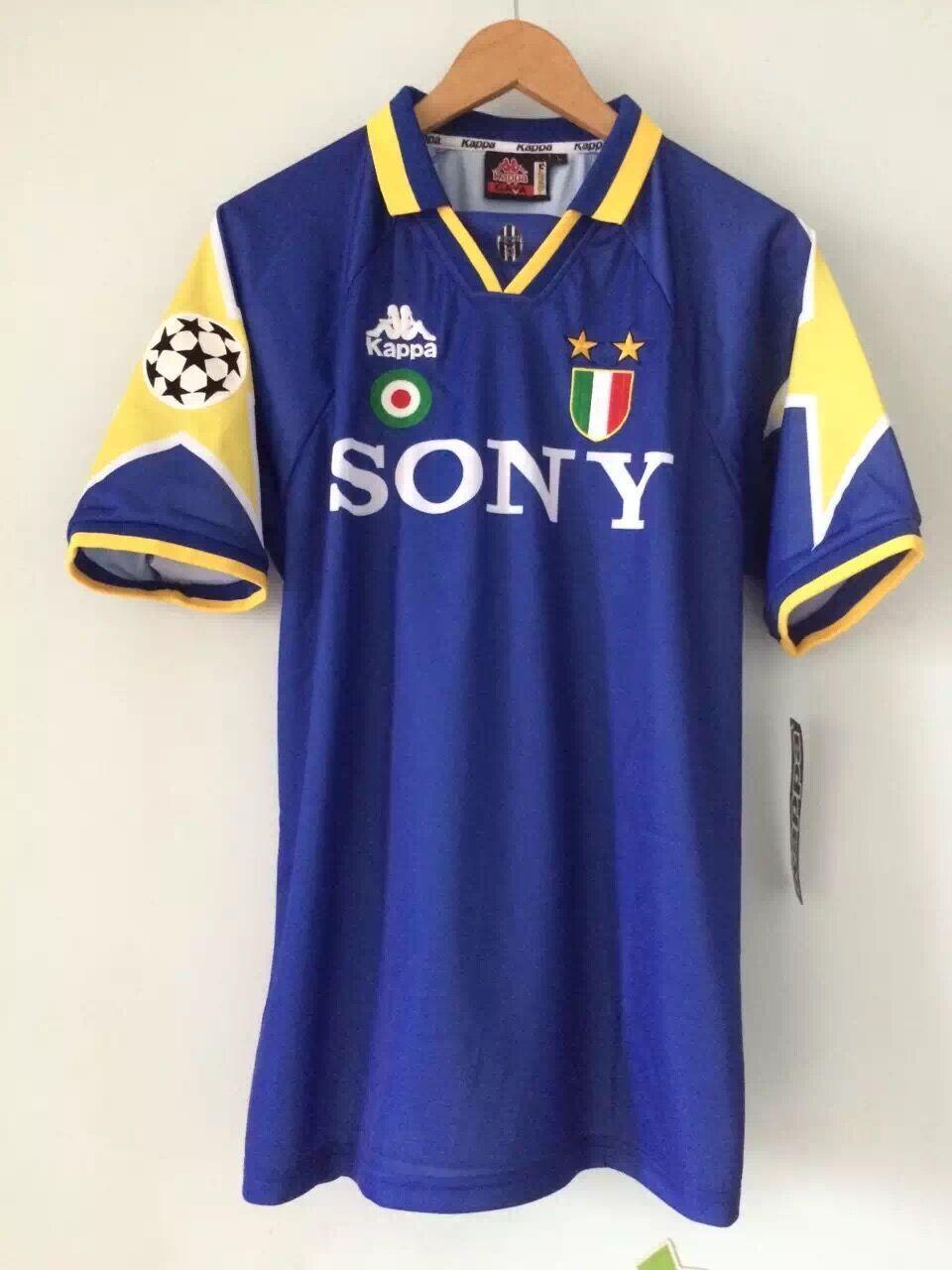Maglia Jersey Juventus Away 199596 FINALE CHAMPIONS DEL PIERO VIALLI RAVANELLI