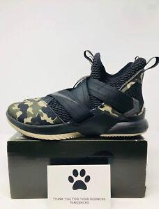 6267a1af44db Nike LeBron Soldier 12 XII SFG  Black Camo  AO4054-001 Size 10.5-14 ...
