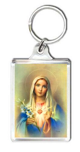 Virgin Mary Schlüsselanhänger Schlüsselanhänger Schurwolle Maria