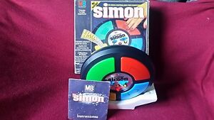 1978-Original-SIMON-Electronic-Game-MILTON-BRADLEY-W-Box-Instructions-Works