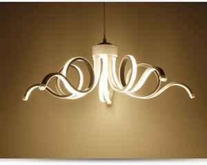 Bon Das Bild Wird Geladen LAMPARA TECHO LED MODERNA 75W BLANCO NATURAL 4200K