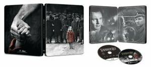 New-Sealed-Schindler-039-s-List-Steelbook-4K-Ultra-HD-Blu-ray-Digital-Code