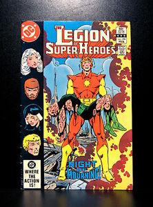 COMICS-DC-Legion-of-Super-Heroes-296-1980s-1st-Queeg-app-RARE-flash