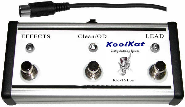 KoolKat's 3 Button Footswitch for Marshall TSL60