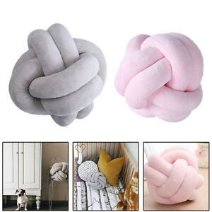 Handmade Creatived Knot Cushion Knotted Ball Soft Pillow Car Sofa Seat Cushion