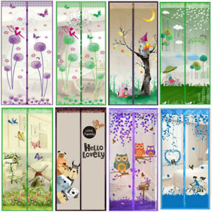 Magic-Anti-Insect-Fly-Bug-Mosquito-Door-Window-Curtain-Net-Mesh-Screen-Protector