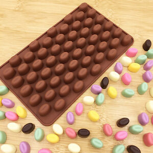 55-Mini-Coffee-Bean-Silicone-Mould-Cake-Candy-Sweet-Cookie-Chocolate-Baking-Mold