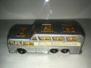 RARE-VINTAGE-1967-Matchbox-Lesney-GREYHOUND-COACH-No-66