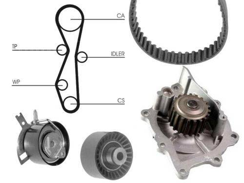 Water Pump And Timing Cam Belt Kit Replacement Part For Peugeot 4007 2.2 Hdi