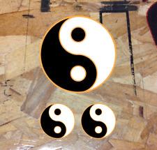 "3.5/"" plus minis 2 Ying Yang Decals Yin Yan Symbols car window stickers graphic"