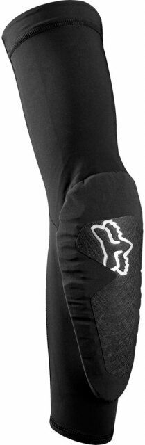 Fox Enduro Pro codo Pads Negro Par-Projoector de brazo de bicicleta de montaña MTB Ligero