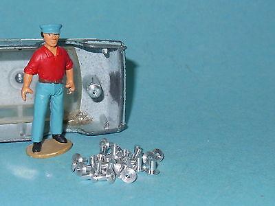 Lot de 30 rivets vieillis pour restauration Dinky Toys DTF725V