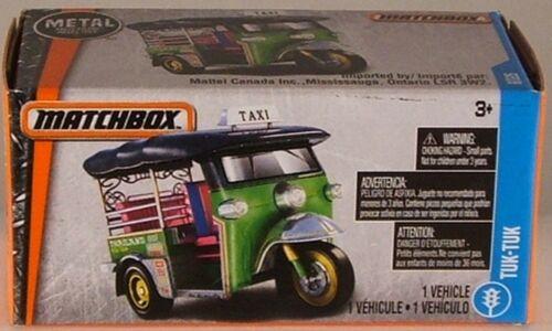 2017 issue MATCHBOX #6 Tuk-Tuk Taxi NEW in BOX