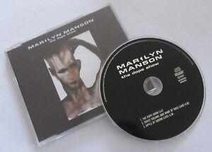 """MARILYN MANSON """"The dope show"""" Maxi CD single (EU press) - France - État : Trs bon état: Objet ayant déj servi, mais qui est toujours en trs bon état. Le botier ou la pochette ne présente aucun dommage, aucune éraflure, aucune rayure, aucune fissure ni aucun trou. Pour les CD, le livret et le texte l'arrire - France"""
