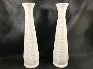 Pair-of-Vintage-Milk-Glass-Starburst-Wedding-Florist-Supply-Bud-Vases