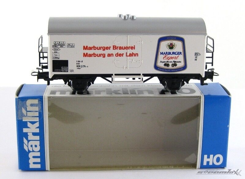 Märklin 82076 4415 H0  SoMo Bierwagen Marburger Brauerei DB mit OVP X00001-07014
