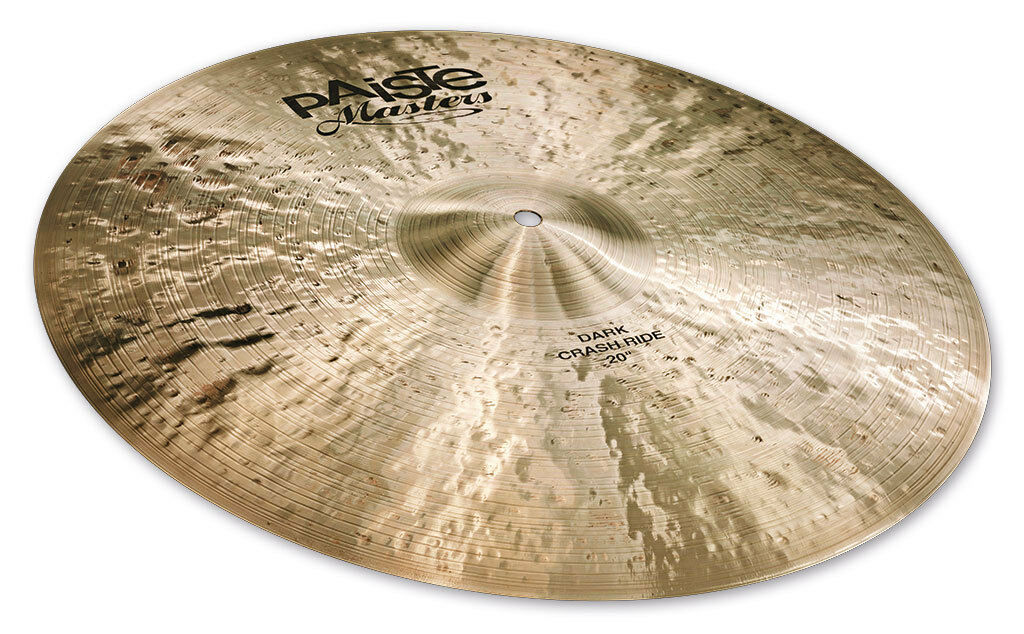 Paiste Masters Dark Crash Ride Cymbal 20