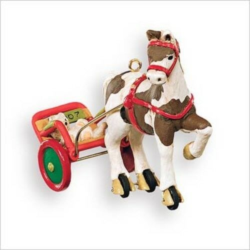 2007 Hallmark A Pony for Christmas 10th in Series Keepsake Ornament