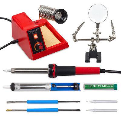 Cnc, Metalworking & Manufacturing Zubehör Set Tools & Workshop Equipment Lower Price with Profi Lötstation Ls58 Stufenlos Regelbare Löt Station