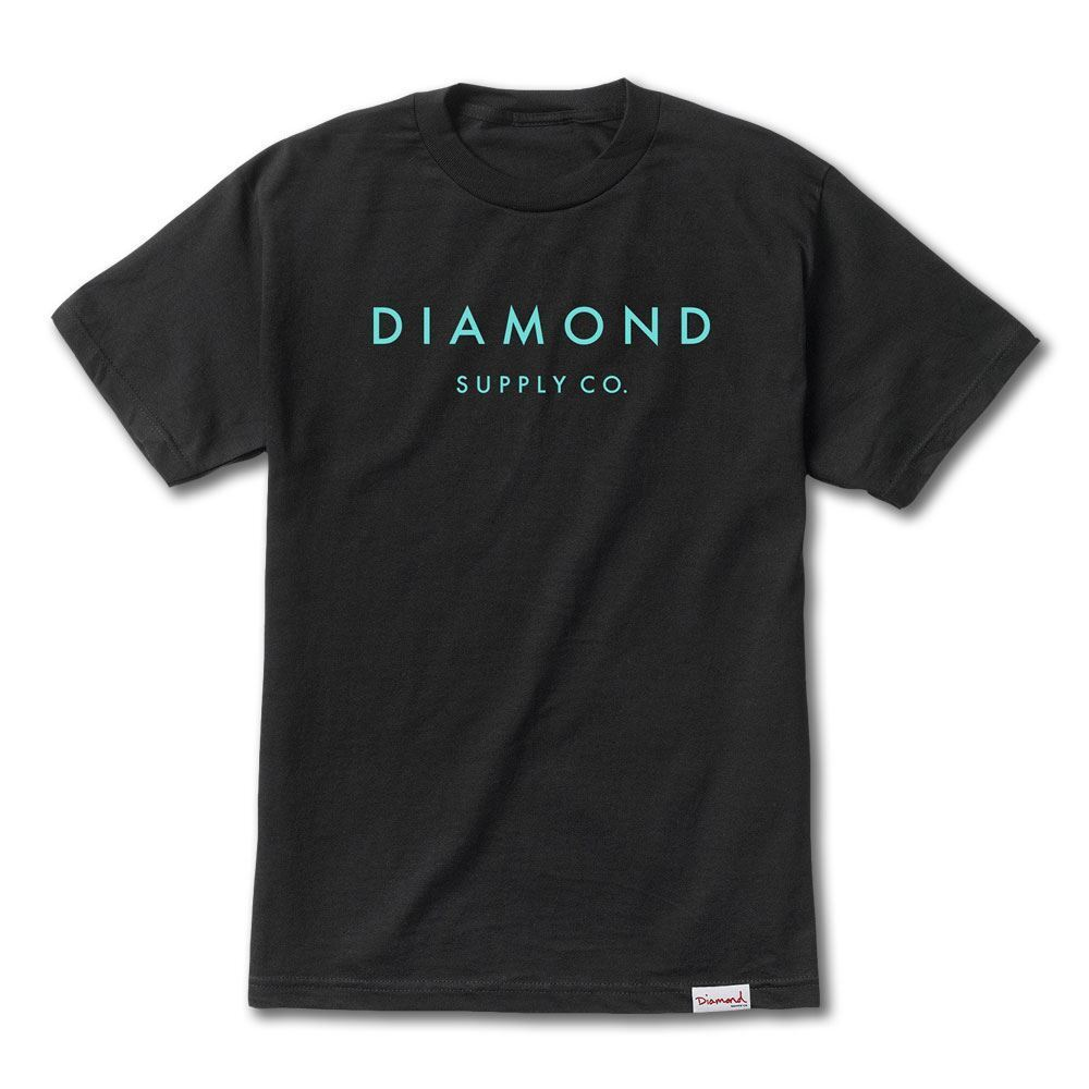 Diamond Supply Co Stone Cut T-shirt Schwarz Tiff