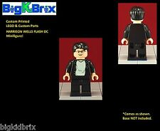 HARRISON WELLS Flash DC Custom Printed LEGO & Custom Parts Minifigure