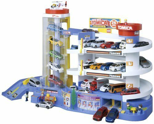 Nuovo Takara Tomy Tomica Super Auto Car Garage Parking From Japan