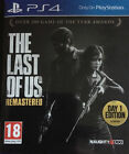The Last of Us: Remastered -- Day 1 Edition (Sony PlayStation 4, 2014) - European Version