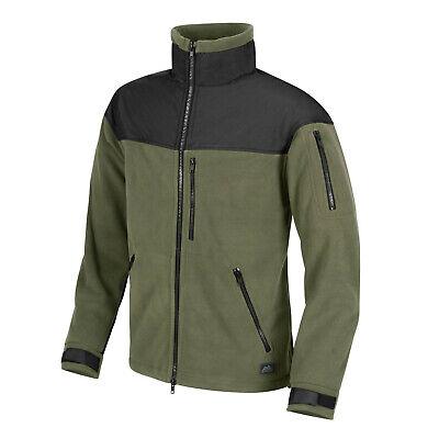 Helikon Tex Classic Army Fleece Jacket Oliv Schwarz Olive Black Outdoor Jacke