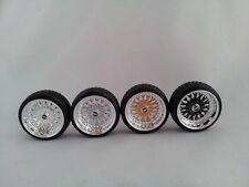 tires, rims, brakes, decals 4 pcs KolkhozZZ/_Division 1//43 KD01 BBS wheels set