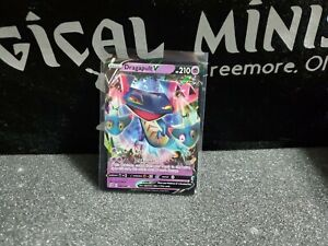Pokemon Dragapult V Rebel Clash Holo 092/192 NM/Mint Condition