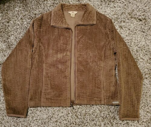 Woolrich Wide Wale Cordoroy Shirt Jacket Tan Size