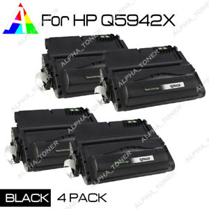 4-Pack-High-Yield-Q5942X-42X-Toner-Cartridge-For-HP-LaserJet-4350-4350dtn-4350n