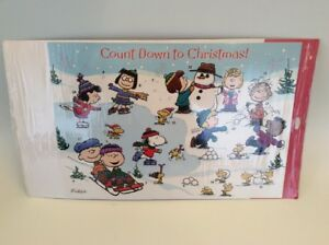 Image Is Loading Retired Vintage Hallmark Snoopy Peanuts Countdown To Christmas