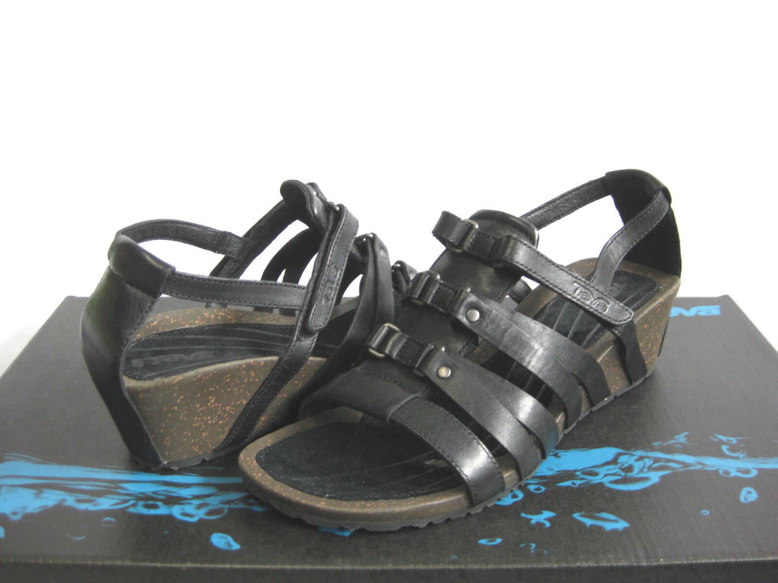 Teva Cabrillo nero donna Sandals US9.5 UK7.5 EU40.5 JP262