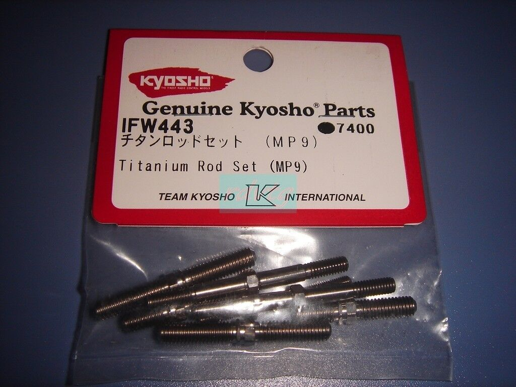 Kyosho MP9 Titanium Varilla Set (IFW443)