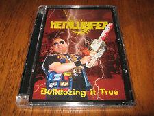 "METALUCIFER ""Bulldozing It True"" DVD + CD desaster sabbat abigail"