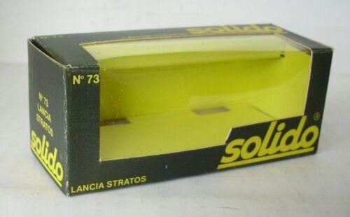Repro Box Solido Nr.073 Lancia Stratos